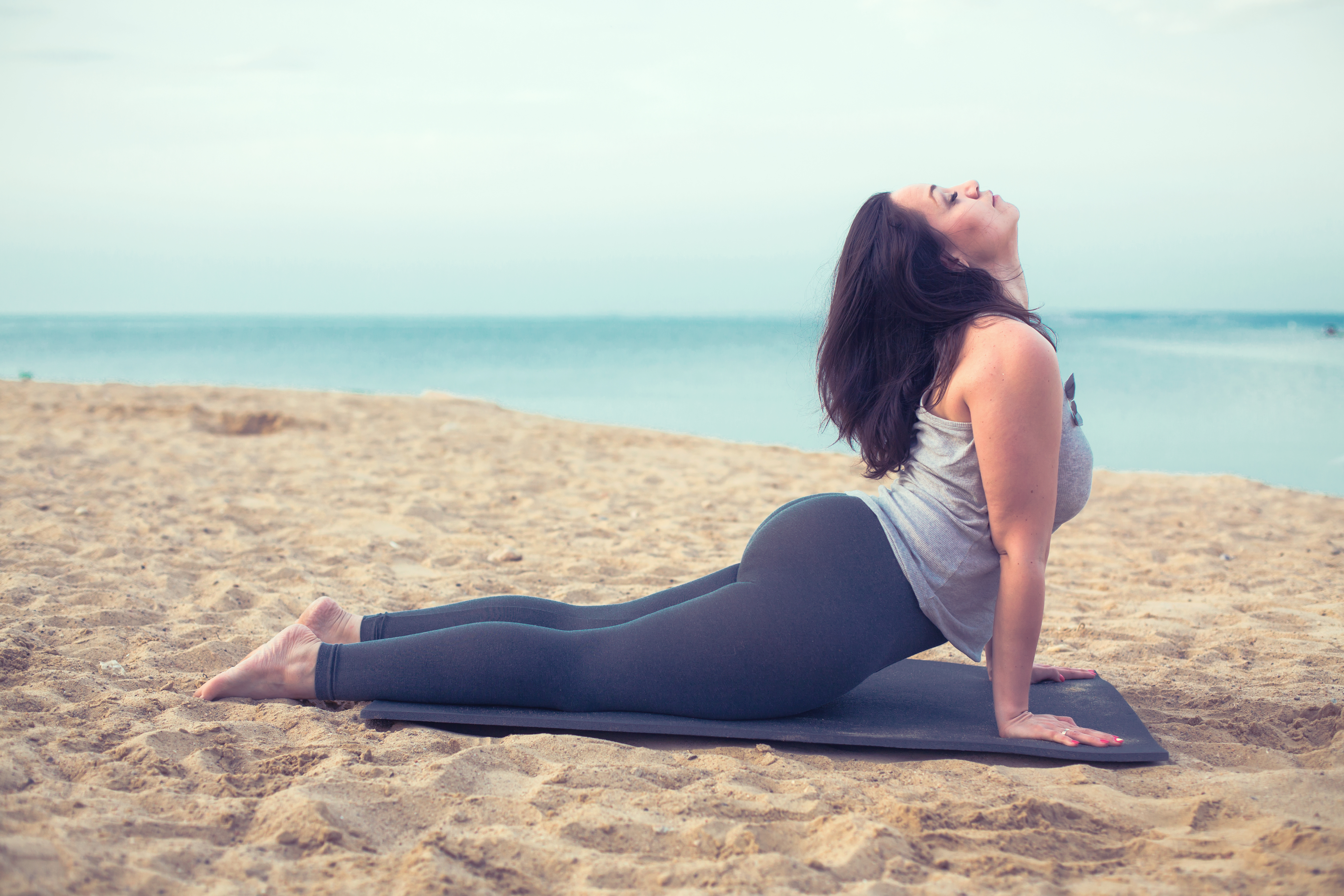 Weight loss pattyyoga young woman doing yoga exercise outdoors ccuart Image collections